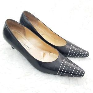ST.JOHN Women's Black shoes size 8.5